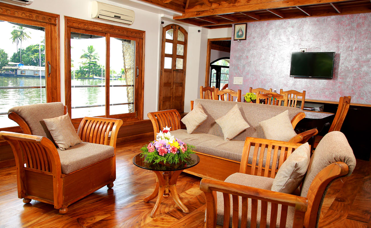 super sitout in alleppey houseboat
